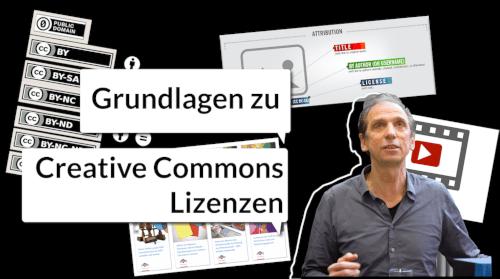 Voransicht des Videos von Henry Steinhau: Grundlagen zu Creative Commons Lizenzen